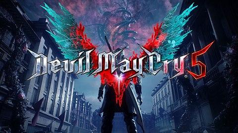 Devil May Cry 5 logo.
