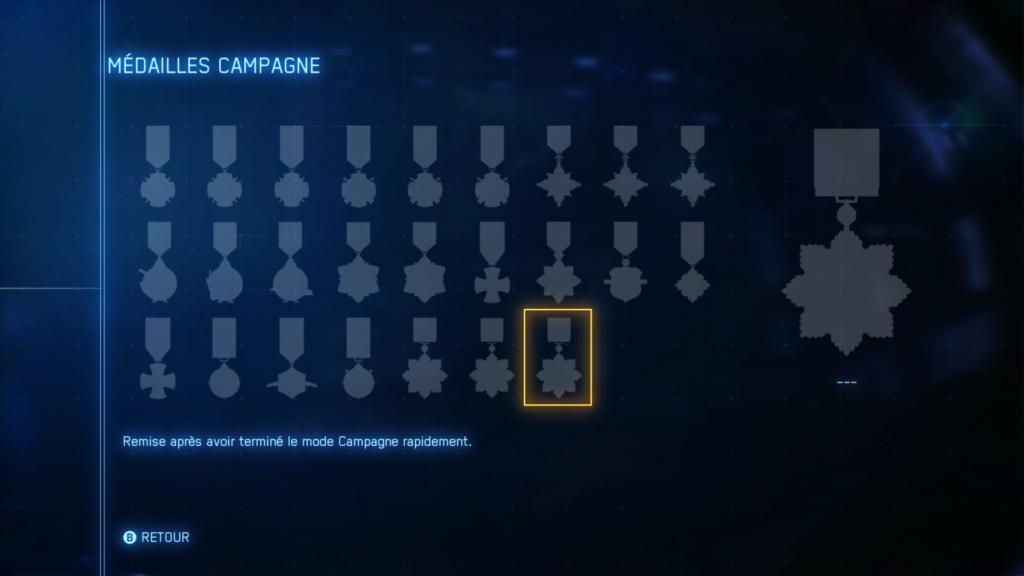 ace combat 7 médailles