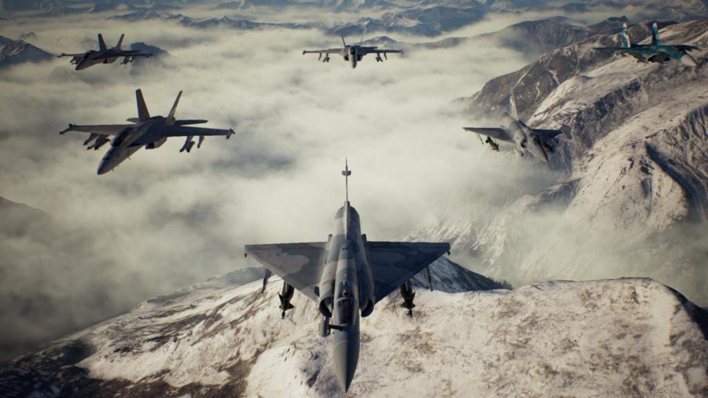 Ace combat 7 squadron