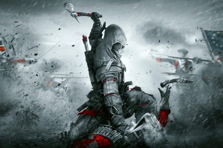 Splashart Assassin's creed 3