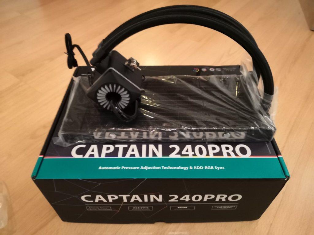 Deepcool Captain 240 Pro bloc-pompe