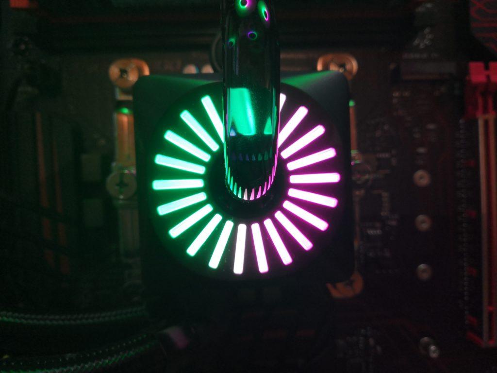 Deepcool Captain 240 Pro RGB pompe