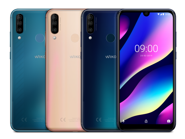 Wiko View 3 pro familiy