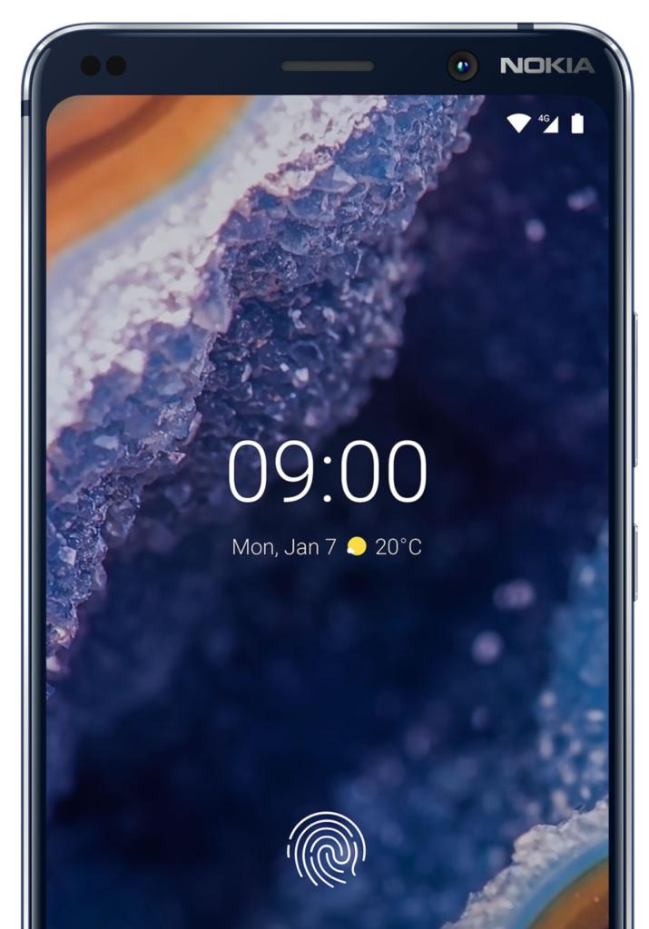 Nokia 9 sensor
