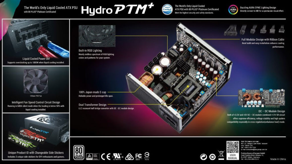 hydro ptm+ rgb