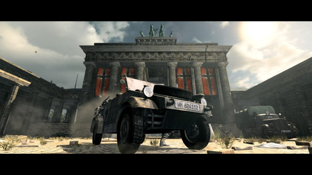 Sniper Elite V2 Remastered porte de brandbourg