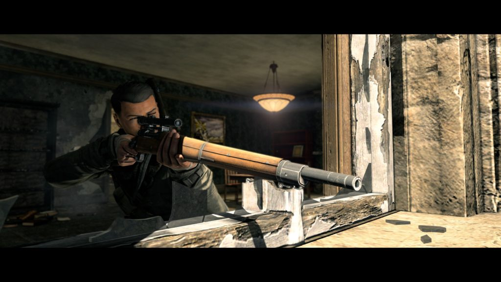 Sniper Elite V2 Remastered sniper