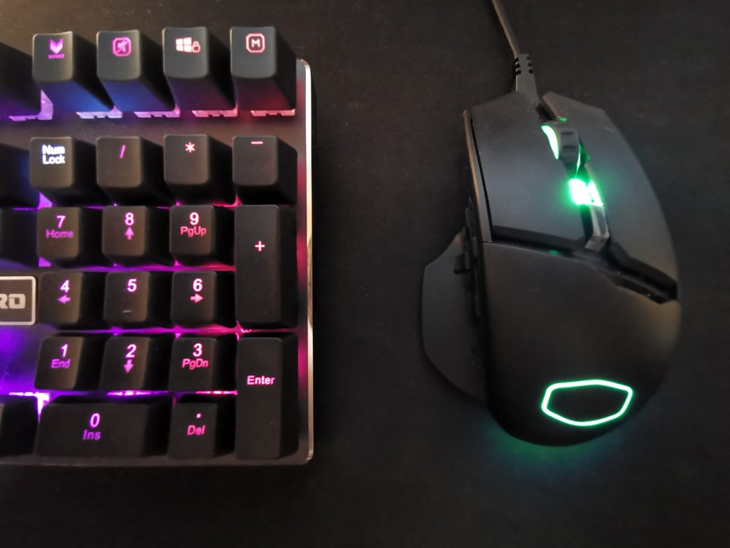cooler master mm830 couleurs