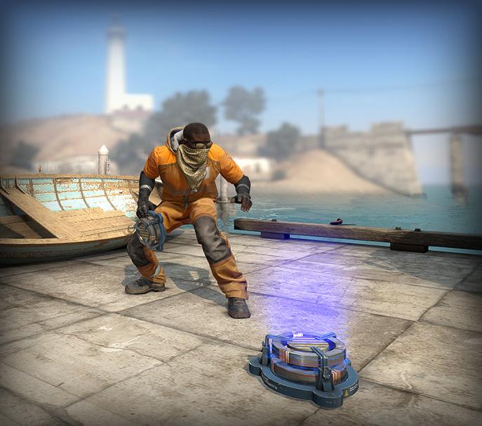 CS:GO bump mines