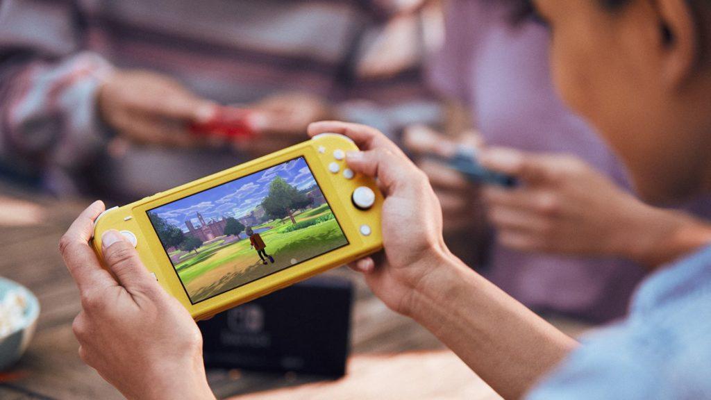 Nintendo Switch Lite nomade