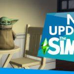 Baby Yoda dans les Sims 4 !