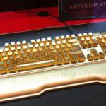 [CES20] ADATA XPG, un clavier en or à 10'000$