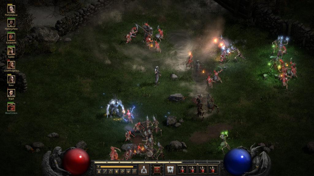 Diablo II: Resurrected, gameplay, alpha, trailer,...