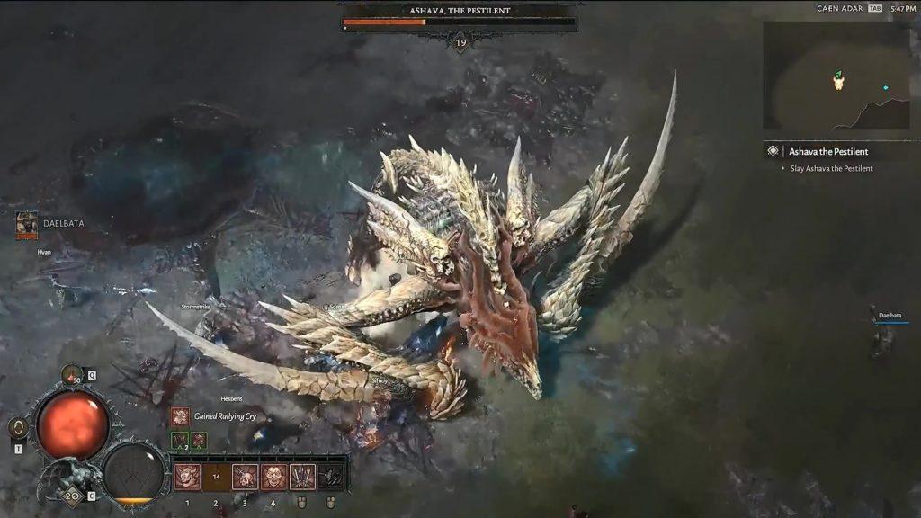 """Diablo IV dévoile sa classe """"chasseur"""" en vidéo"""