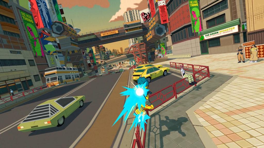 Bomb Rush Cyberfunk lâche un incroyable trailer