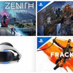 Playstation VR, trois nouveaux titres arrivent
