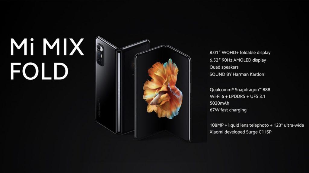 Mi Mix Fold, enfin un téléphone qui plie son prix