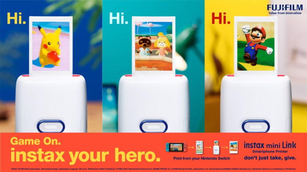 Nintendo X Fujifilm, imprimez vos screenshots