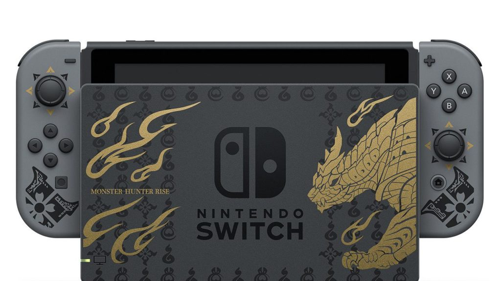 Concours Nintendo Switch Monster Hunter Rise !