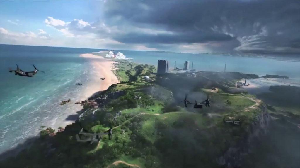 Battlefield 6, deux images du trailer dans la nature !