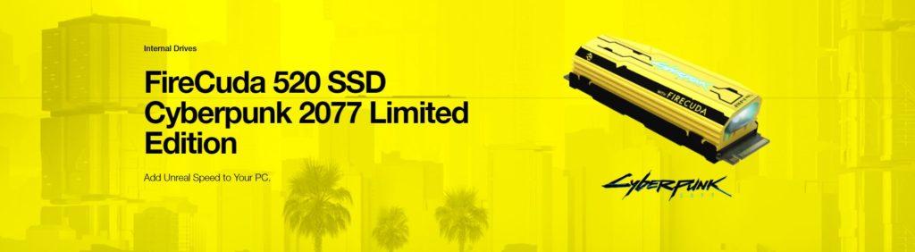 Seagate lance un SSD RGB sur le thème de Cyberpunk 2077