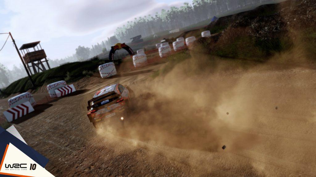 WRC 10, la Grèce nous montre ses panoramas