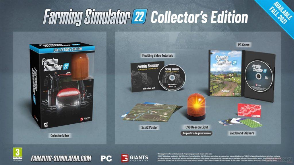 Farming Simulator 22, nouveaux détails et collector de qualité
