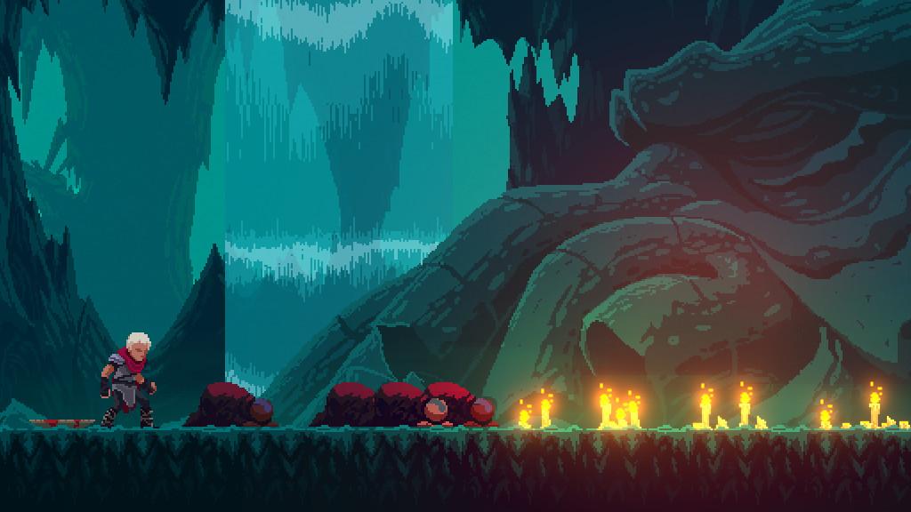 Elderand, un mix de pixel art, lovecraft en Metroidvania