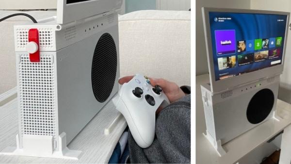 """Xbox Series S, un écran pour rendre la console """"portable"""""""