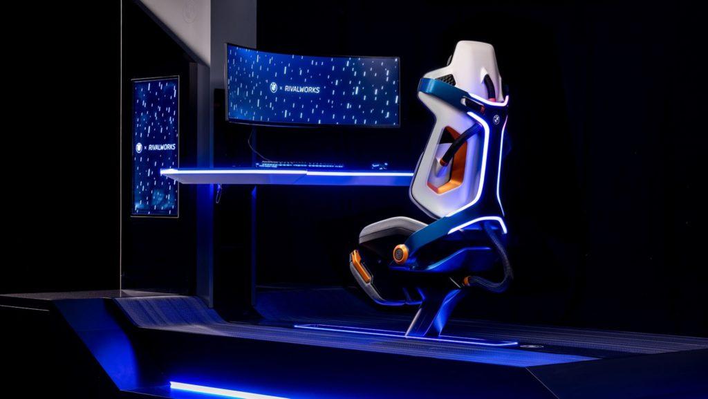 BMW dévoile un magnifique siège gaming boosté à l'IA