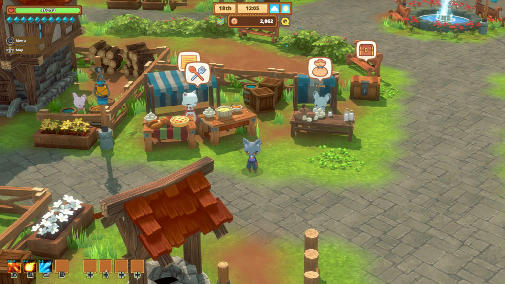 Kitaria Fables, un RPG tout mignon à faire à deux