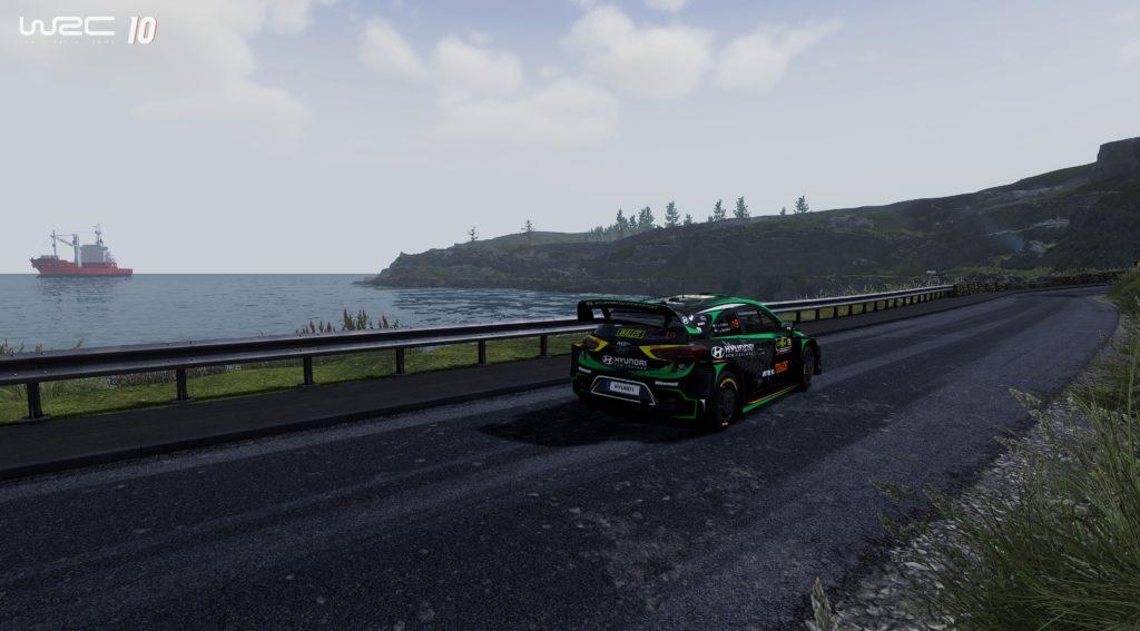 Test - WRC 10 Ecosse
