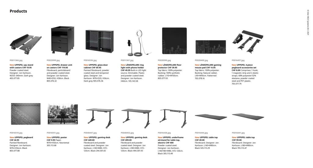 IKEA x ROG, les premiers meubles arrivent en octobre